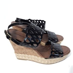 Montego Bay Club Wedge Sandals Size 9.5